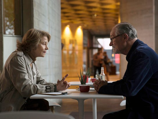 Charlotte Rampling and Jim Broadbent play former lovers