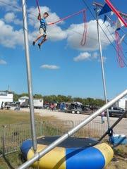 Conner Mahfouz of Poland flies high on the Power Jump