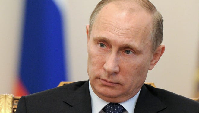 Russian President Vladimir Putin has banned rallies in Sochi near the 2014 Olympics.