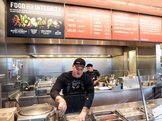 AP CHIPOTLE FOOD CHANGES A FILE F USA WA