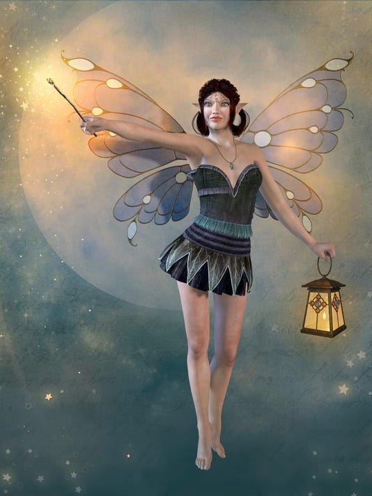 Enchanting Fairy with a Magic Wand