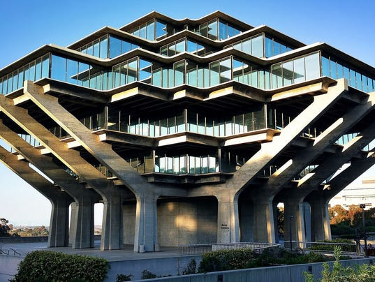 Mid century modern architecture six campus buildings you need to see 636453250029453109 geisel library o palsson flickr cc by publicscrutiny Image collections