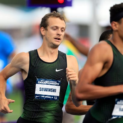 USA Track and Field: Former Hawkeye Erik Sowinski finishes third; Clayton Murphy takes title in 800