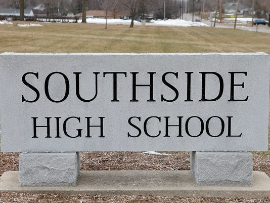 Muncie Southside High School sign