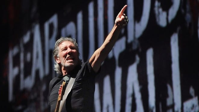 Roger Waters, 2012 at Bankers Life Fieldhouse.