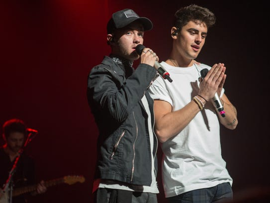 Jack & Jack opens for Camila Cabello at the Riverside