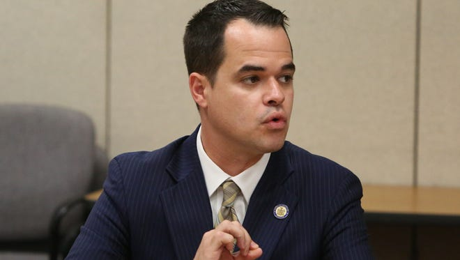 A file photo of State Sen. David Carlucci from July 5, 2016.
