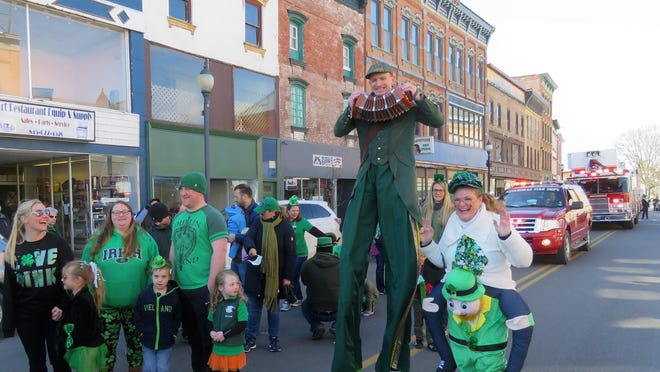 The St. Patrick's Day Parade and Blarney Blast return to Port Jervis in March.