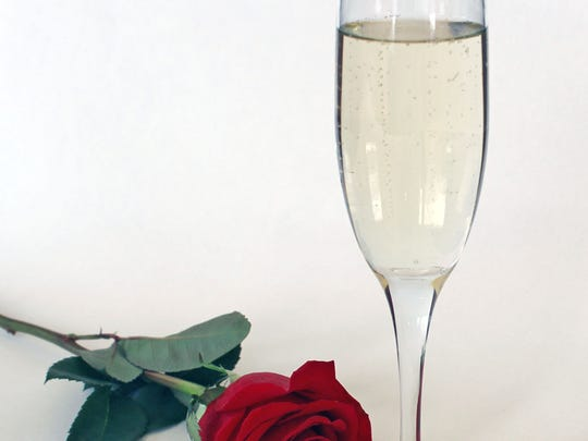 Rose Champagne Cocktail adds a simple upgrade to a glass of bubbly.