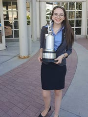 Emily Raney placed 8th in the nation at the National Debate Tournament.