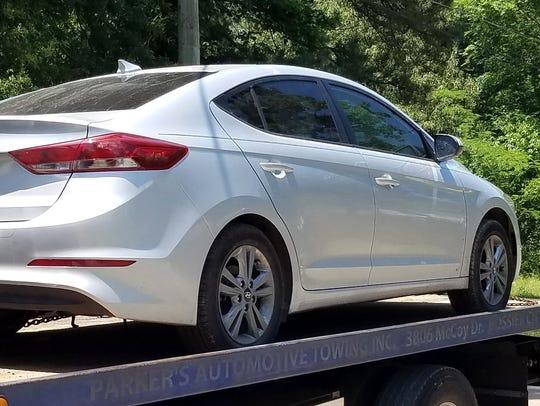 Stolen vehicle recovered in Shreveport.
