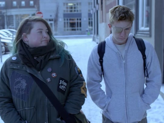 """Lily Mae Harrington and Thomas Mann star in """"Some Freaks."""""""