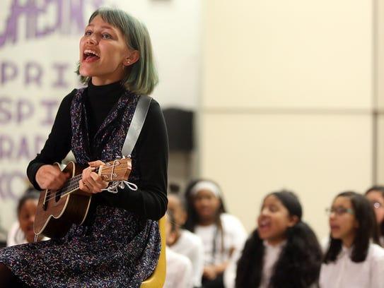 Grace VanderWaal performs with East RamapoÕs Little