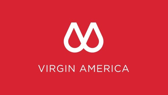 This proposed new logo for Virgin America is likely