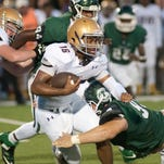 Live in-game updates from area HS football