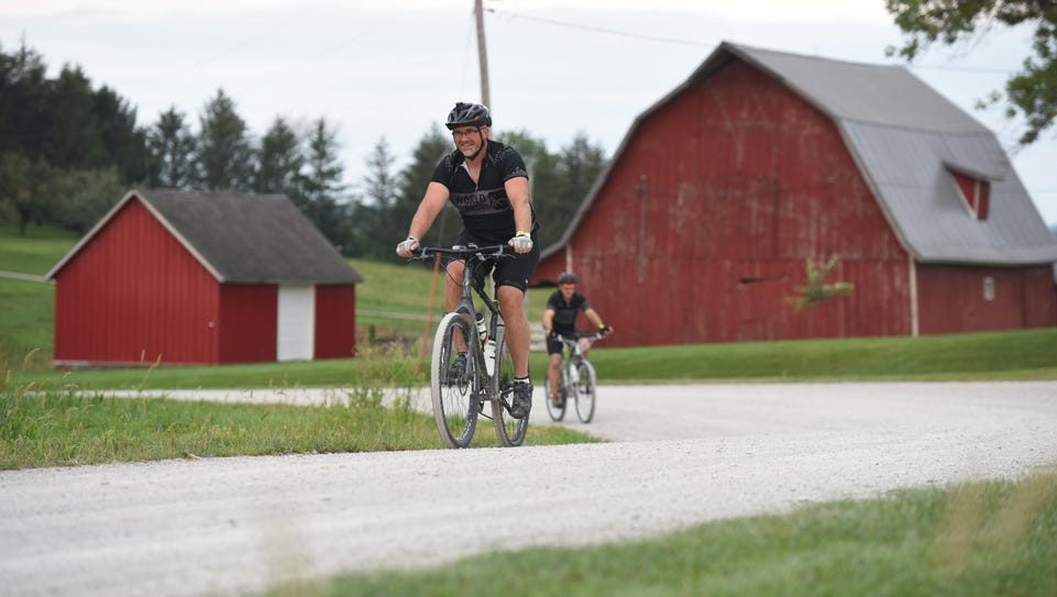 Gravel riding and racing is gaining popularity in Johnson