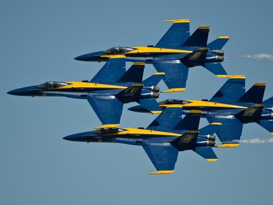 NAV Blue Angels command 1