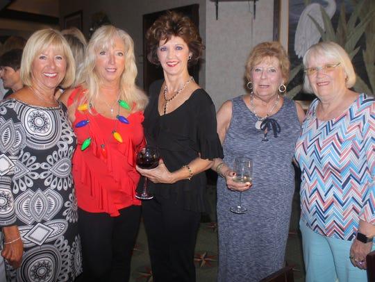 Sue Stone, Rose Kraemer, Candy Seward, Sue Winje and