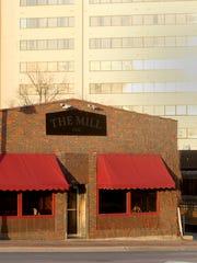 The Mill along Burlington Street in Iowa City on Monday,