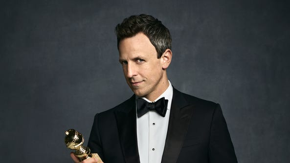 Seth Meyers will mark his first Golden Globes hosting