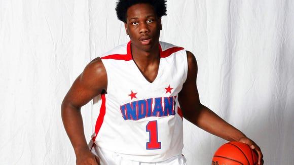 Caleb Swanigan, Homestead High School is the 2015 Indianapolis Star Mr. Basketball.