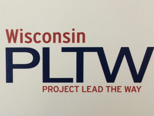 The Wisconsin Project Lead The Way logo