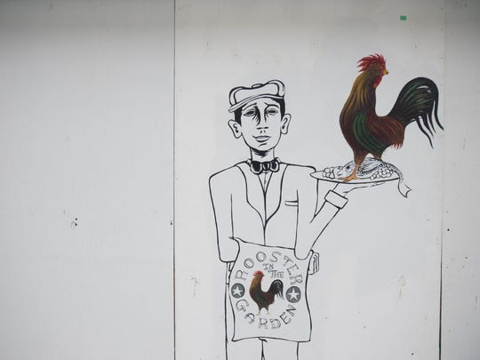 """Rooster in the Garden will be one of two restaurants at the Galleria of Pierce Harbor run by chef Chris Bireley. Similar to Bireley's Vero Beach restaurant, Osceola Bistro, Rooster in the Garden will receive daily food deliveries and offer farm to table food. """"It will be as fresh as it possibly can to the plate,"""" Bireley said."""