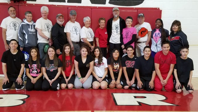 The Grant County Pickleball group recently taught the basics of pickleball to a Cobre High School physical education class.