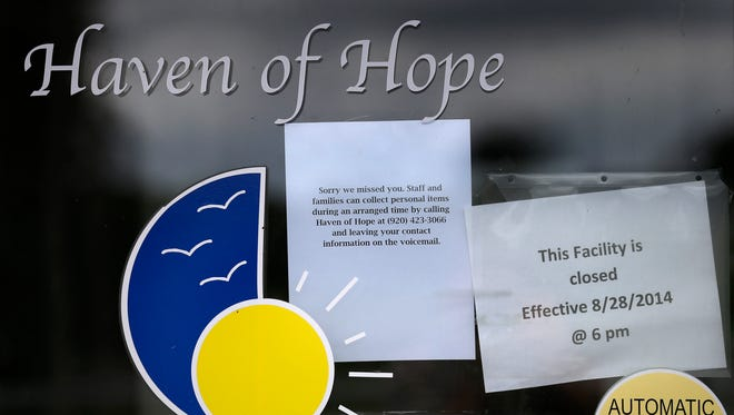 Haven of Hope, a day care dedicated to children and adults with special needs or from families on the brink of poverty, closed Aug. 28 in Little Chute. Parents and former staff members intend to relaunch the day care.