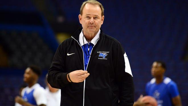Blue Raiders head coach Kermit Davis is back on the recruiting trail.