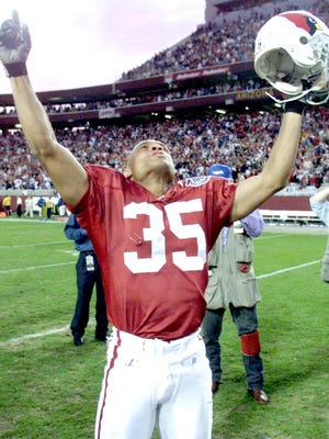 Aeneas Williams (shown in 1998) was a starter almost from the day he arrived at Cardinals camp.