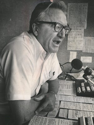 Bob Ufer (April 1, 1920 - October 26, 1981) was the lead broadcaster for the Michigan Wolverines football team for 37 years, starting in 1944. He has been inducted into the University of Michigan Athletic Hall of Honor.