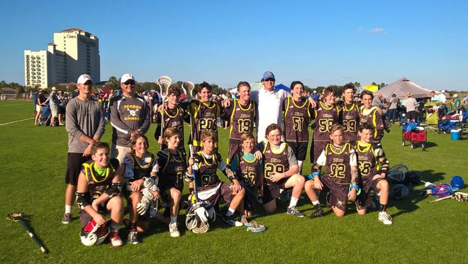 The Tallahassee Terror 13U team went undefeated this past weekend at the 2016 Orlando Lacrosse Open in the Senior B Green Division's 10-team pool to win the championship.