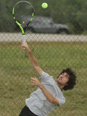 Christian Zupan, a 2016 state singles qualifier for