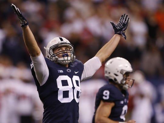 Penn State tight end Mike Gesicki.