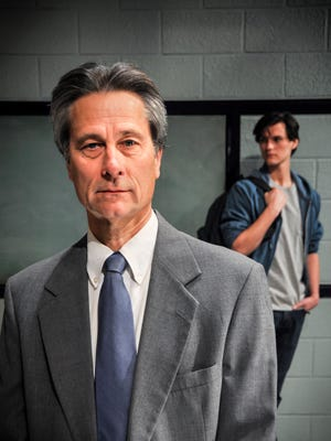 """Terry Weber and Ben Terpstra in """"The Dream of the Burning Boy"""" at the University of Tennessee Lab Theatre."""