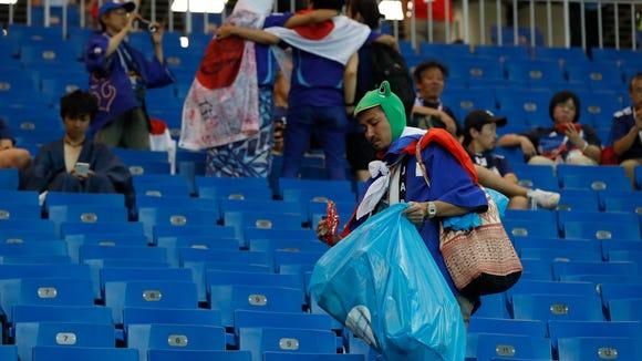 AP RUSSIA SOCCER WCUP BELGIUM JAPAN S SOC WSOC RUS