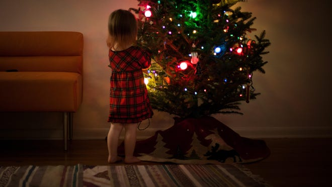 The holiday season can be bright and merry, while saving energy with timers or power strips to turn off light when not needed.