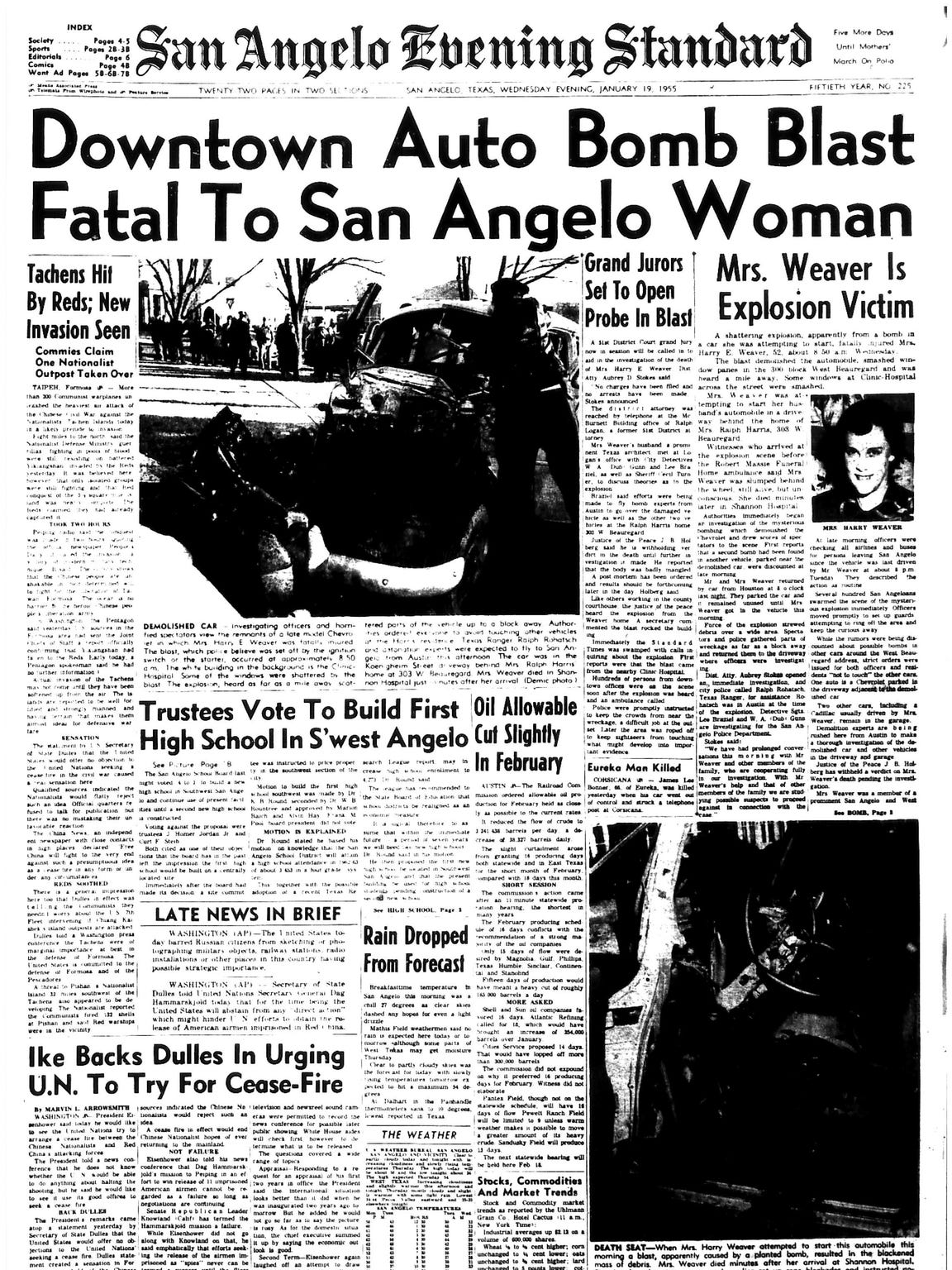 Front page January 1955.
