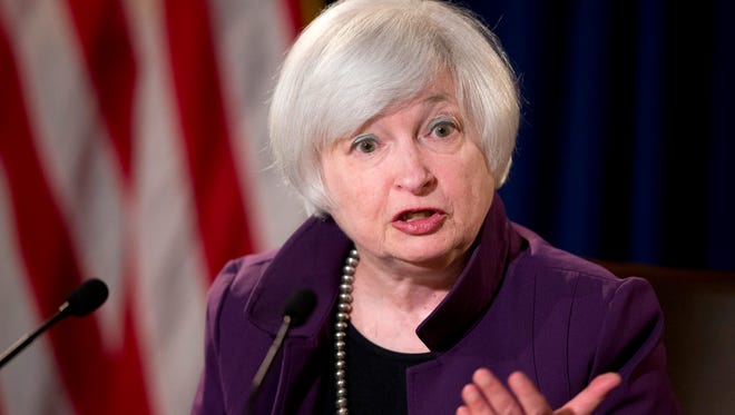 Federal Reserve Chair Janet Yellen has said she expects the Fed to boost interest rates this year.