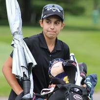 Freshman Mikaela Schulz figures to make a huge impact in her first year on the Bloomfield Hills varsity girls golf team.