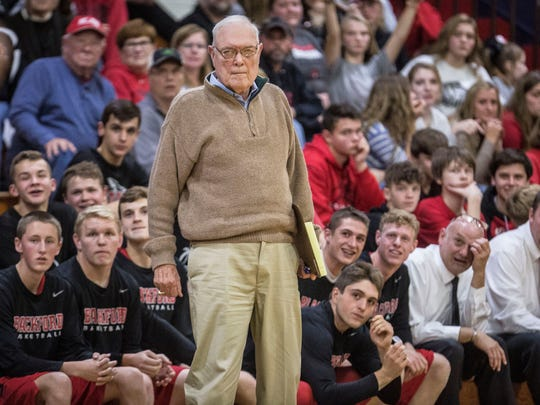 Coach Jerry Hoover has helped revive the Blackford
