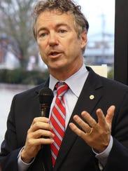 Sen. Rand Paul in Alexandria, Ky.