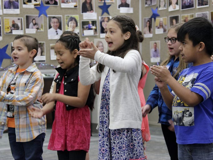 More than 1,400 Tulare County students took to the