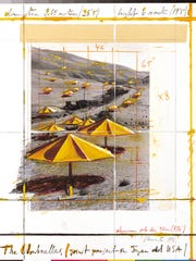 Architest Tom Golden helped Christo and Jeanne-Claude plan and execute their many projects, including The Umbrellas.