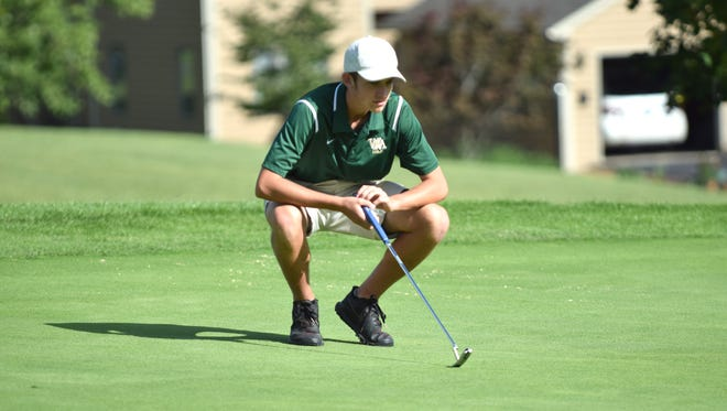 Wilson Memorial's Patrick Smith carded a 5-over 77 at Lakeview Golf Club in Harrisonburg to lead the Green Hornets to victory Tuesday in the first Shenandoah District mini-tourney of the 2018 season.