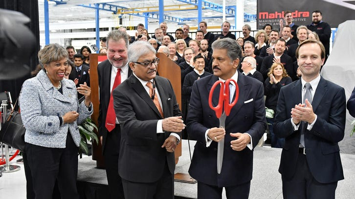 Howes: Mahindra Auto marrying Silicon Valley to Detroit