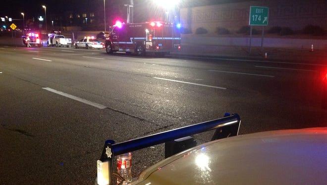 Pedestrian killed on U.S. 60 on Sunday Feb. 15.