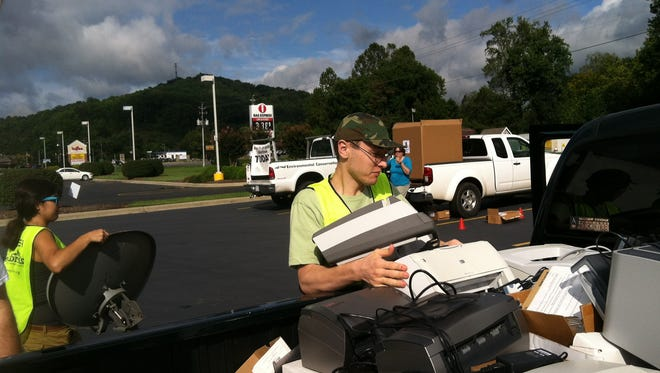 Asheville GreenWorks and recycling partners will hold its third Hard2Recycle Day Saturday in Weaverville.