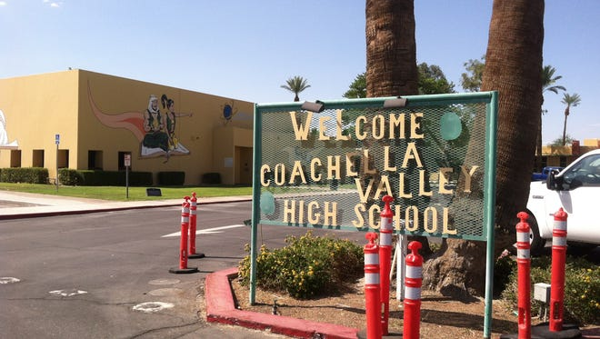 An unspecified number of students felt ill this morning after reporting a strange odor near Coachella Valley High School in Thermal.